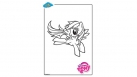 Coloriage My Little Pony - Rainbow Dash