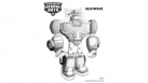Coloriage Transformers Rescue Bots - Heatwave
