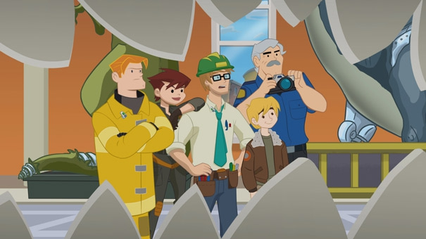 Transformers Rescue Bots, la famille Burns