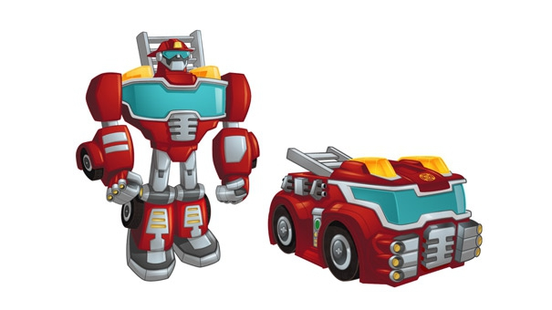 Transformers Rescue Bots, Heatwave